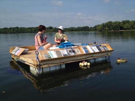 Lire sur l'eau : la Floating Library du lac Minnesota | Insolite bibliothèque | Scoop.it