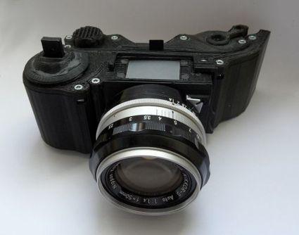 Un appareil photo reflex argentique imprimé en 3D | L'actualité de l'argentique | Scoop.it