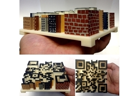 City QRcode | 3D Printing and Fabbing | Scoop.it