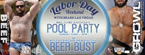 THE PARTY OF LABOR DAY WEEKEND!  @ Blue Moon Hotel for Men | Gay Vegas Daily | Scoop.it