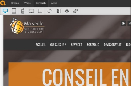 Screenfly : outil pour tester l'affichage multi-devices | Map@Print | Scoop.it