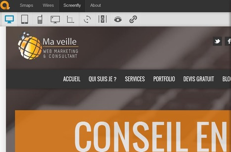 Screenfly : outil pour tester l'affichage multi-devices | DevWeb | Scoop.it