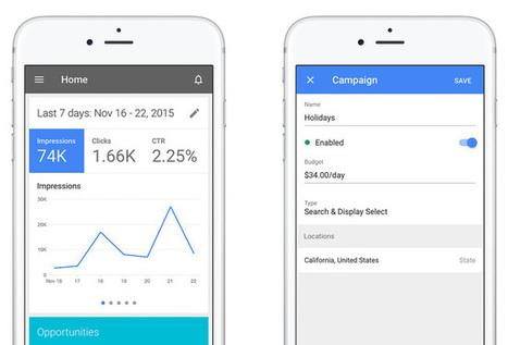 L'application Google Adwords pour iPhone est enfin disponible ! | Applications Iphone, Ipad, Android et avec un zeste de news | Scoop.it