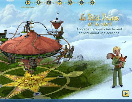 Le Petit Prince et le vent : joue pour construire un e éolienne et comprendre l'énergie, l'électricité, la force du vent | Serious games : des jeux pour apprendre | Scoop.it