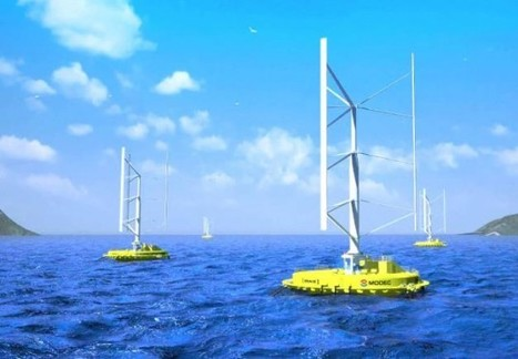 World's First Floating Wind-Current Turbine to be Installed Off Japanese Coast | Naturally Designed | Scoop.it