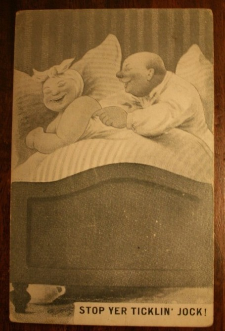 Vintage Humorous Postcard - Postmarked -7pm Oct 13 1905 | Antiques & Vintage Collectibles | Scoop.it