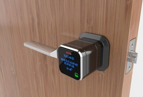Genie Smart Lock Aims For Year-Long Battery Life | TechCrunch | Gadgets | Scoop.it