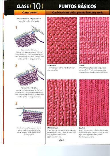 fanatica del tejido: dos agujas paso a paso 1 calados | Tejido | Scoop.it
