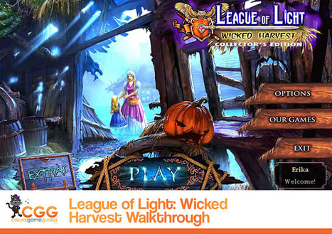 League of Light: Wicked Harvest Walkthrough: From CasualGameGuides.com | Casual Game Walkthroughs | Scoop.it