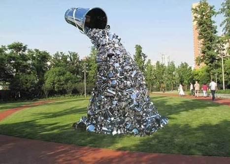 Subodh Gupta's Ray | Art Installations, Sculpture, Contemporary Art | Scoop.it