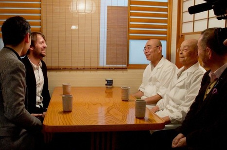 Jiro Ono and René Redzepi Have a Cup of Tea | Gastronomy & Wines | Scoop.it