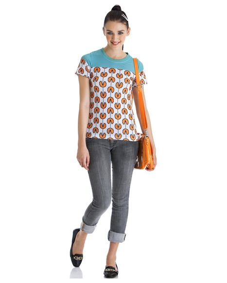 Buy the 'not just another basic tee' in orange by Yogesh Chaudhary   Stylista   Scoop.it