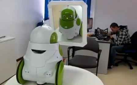 Robot : se reconnaître face à un miroir   Actualité robotique   Scoop.it