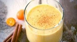 Faites le plein d'antioxydants avec ce délicieux smoothie au curcuma | Santé | Scoop.it