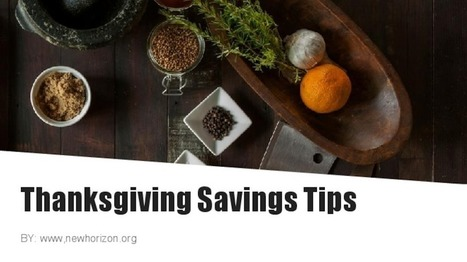 Thanksgiving Savings Tips | Daily Personal Finance Tidbits | Scoop.it