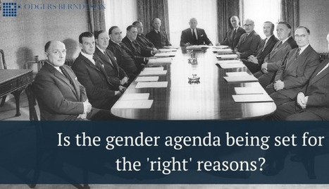 Is the gender agenda being set for the 'right' reasons? | Organisation Development | Scoop.it