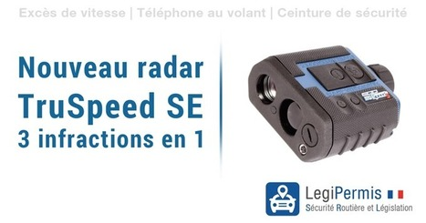 Nouveau radar mobile TruSpeed SE en 2016 - Blog LegiPermis | Sécurité routière | Scoop.it