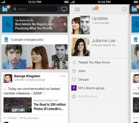 LinkedIn Revamps Mobile Apps to Focus on Stories, Updates - Wired | Juice Content Marketing | Scoop.it