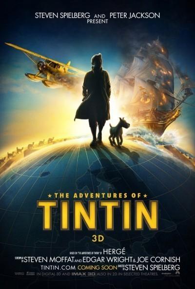Les aventures de Tintin, par Spielberg, dès le 26 octobre sur Canal+. | Tintin, par Hergé | Scoop.it