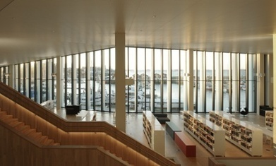 A new chapter: British architects unveil state-of-the-art Arctic library | innovative libraries | Scoop.it