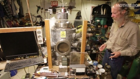 This chain smoking, gun loving guy built a nuclear reactor in his home | Strange days indeed... | Scoop.it