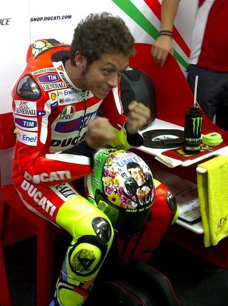 The Riders new lid! | Alex Briggs | Ductalk Ducati News | Scoop.it