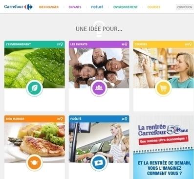 Carrefour co-construit les services de demain avec ses clients | RelationClients | Scoop.it