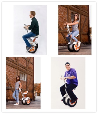 Airwheel A3 Sitting-Posture 2 Wheel Electric Scootermakes a Significant Breakthrough In Riding Mode. | Press Release | Scoop.it