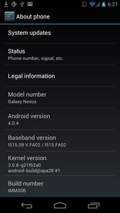Verizon Galaxy Nexus: Flash/Install Android 4.0.4 ICS (IMM30B) (HOW TO GUIDE) | OS Bulletin | AndroidTuition | Scoop.it