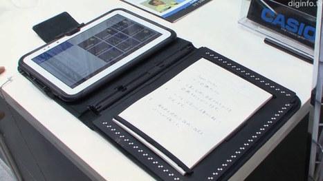 Casio Paper Writer: Un tablet Android almacenará tus garabatos en bits y papel (con video) | Educar con las nuevas tecnologías | Scoop.it