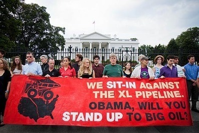 Youth plan mass civil disobedience to protest Keystone XL | Americans for Political Change | Scoop.it