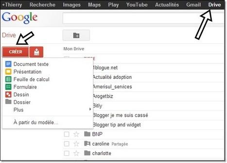 Le rognage des photos sur google drive (présentation et dessins) | Time to Learn | Scoop.it