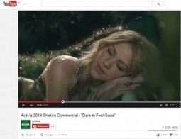 « Dare to Feel Good », le partenariat d'Activia et de Shakira | Stratégie de contenu | Scoop.it
