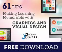New eBook: 61 Tips for Making Learning Memorable with Graphics and Visual Design by News Editor : Learning Solutions Magazine