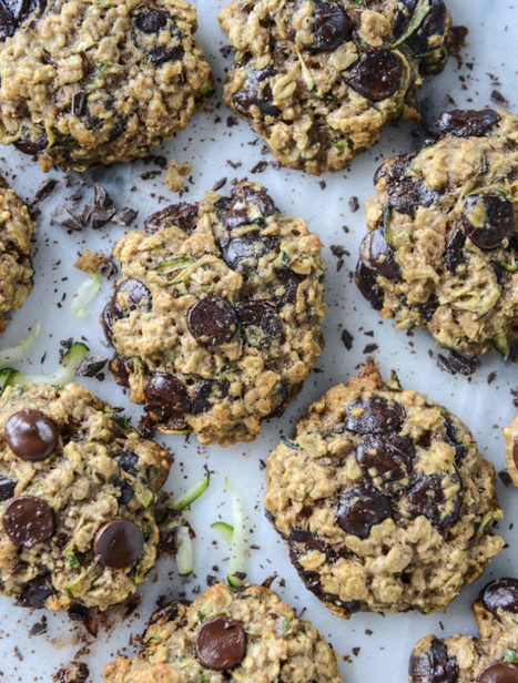 Chewy Oatmeal Zucchini Cookies. | How Sweet It Is | Everything about cooking and recipes | Scoop.it