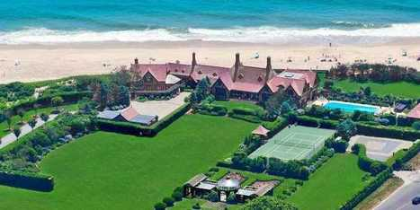 HOUSE OF THE DAY: Shoe Tycoon Vince Camuto's $48 Million Hamptons Estate Is Already In Contract | Hamptons Real Estate | Scoop.it
