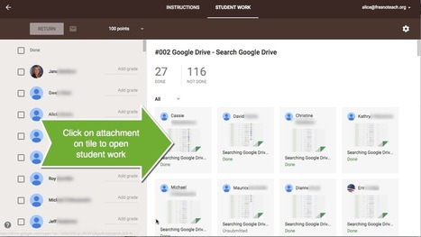 Google Classroom: Opening Multiple Student Documents Quickly | Teacher Tech | 2.0 Tech Tools for Education | Scoop.it