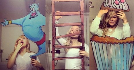 Instagram Doodler Makes Whimsical Drawings on Her Bathroom Mirror | Digital-News on Scoop.it today | Scoop.it