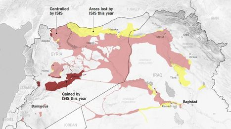 Where ISIS Gained and Lost Territory This Year | Geography Education | Scoop.it