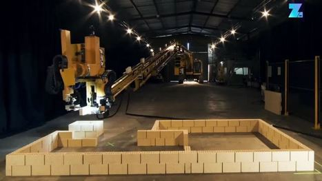 Ziegel für Ziegel: Roboter baut Haus in nur zwei Tagen   Terre cuite Allemagne   Scoop.it