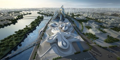 Changsha Meixihu International Culture & Arts Centre - Architecture - Zaha Hadid Architects | Innovative Design | Scoop.it