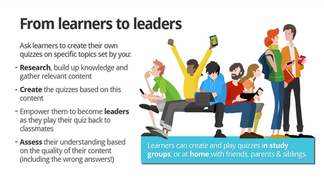 From learners to leaders with the Kahoot! pedagogy | UDL & ICT in education | Scoop.it