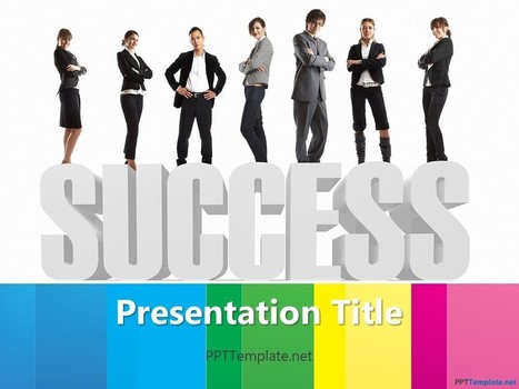 Free Corporate Success PPT Template | Free PPT Templates | Scoop.it