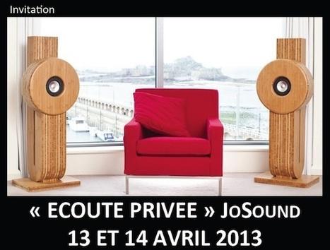Les enceintes JoSound en écoute privée chez Voir & Emouvoir (77) les 13 et 14 avril | ON-TopAudio | Scoop.it