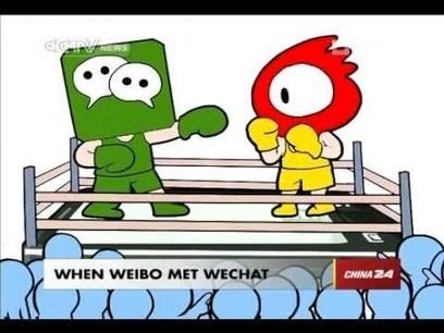 La guerre des réseaux sociaux chinois ! | Social Media Addicted | Scoop.it