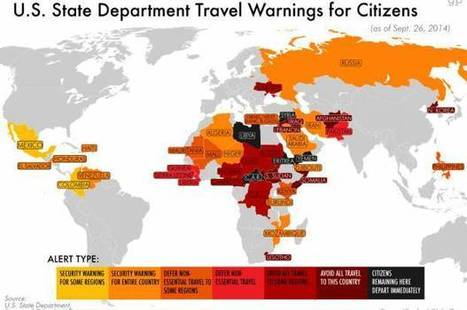 U.S. government to American people: Stay away from these countries | AP Human Geography | Scoop.it