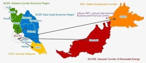 Gateway to Malaysia's 6 Economic Growth Corridors | AmberSilkRoad | Insights on Malaysia | Scoop.it