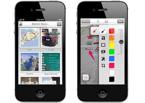 Skitch For iOS Updated: One Of The Best Annotation Apps Just Got Better -- AppAdvice | mrpbps iDevices | Scoop.it