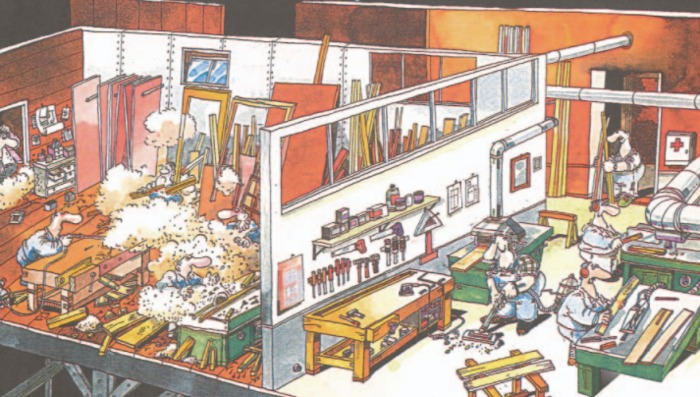 """(MULTI) (PDF) - Project """"Less Dust in the workplace"""" 