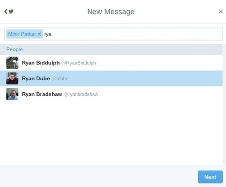 8 Unexpected and Useful Ways to Use Twitter Group DMs | Business in a Social Media World | Scoop.it